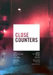 Close Counters Gig Poster